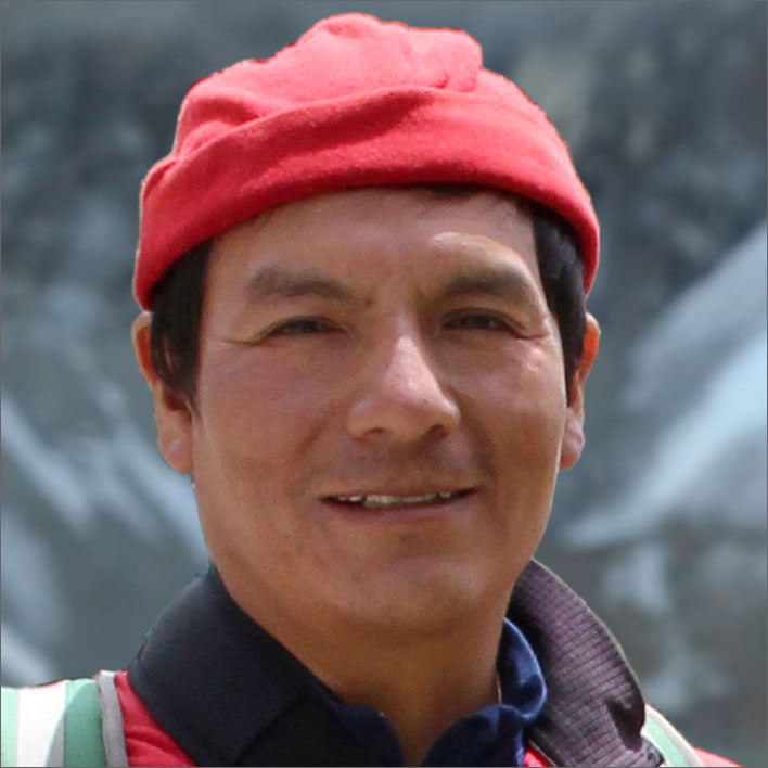 Climate change victim: Saúl Luciano Lliuya, Andean mountain guide