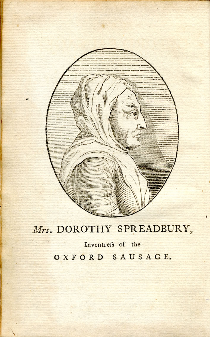 From the 'Oxford Sausage': frontispiece.