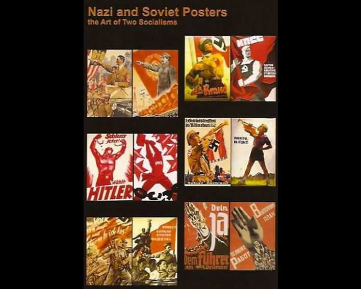 Similarities of Nazi and Soviet posters