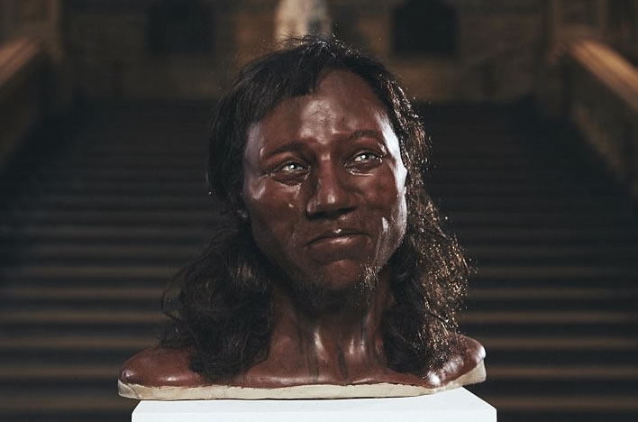 Tanned Cuprinol Man, Cheddar Gorge, UK, 8,000 BC