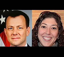 FBI Deputy Assistant Director of the Counterintelligence Division Peter Strzok and FBI attorney Lisa Page
