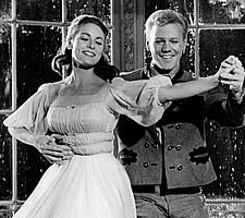 The Sound of Music, 1965: The barely legal Liesl and the Nazi postboy Rolfe working on their Anschluss.