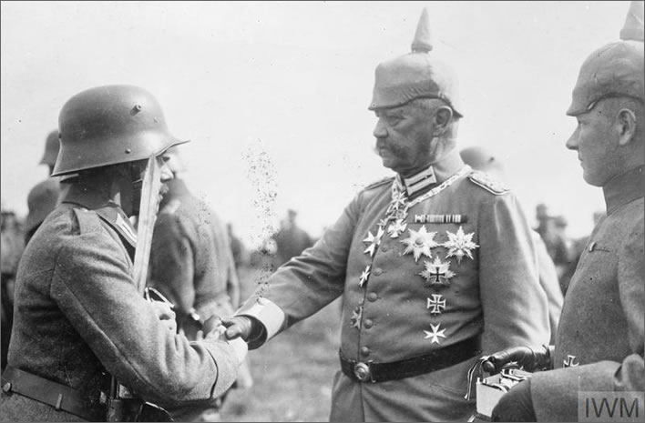 Field Marshal Paul von Hindenburg (1847-1934)
