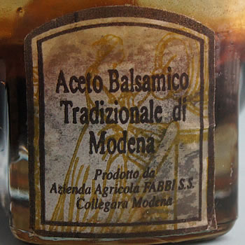 Aceto balsamico ©Figures of Speech