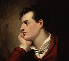 George Gordon Byron, 6th Baron Byron by Richard Westall, 1813
