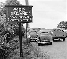 Irish customs stop