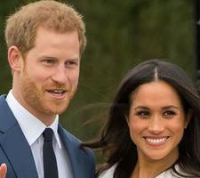 Henry Windsor (layabout) and Meghan Markle (Social Justice Warrior)