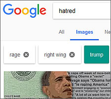 Rage against the Google search machine.