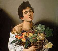 Caravaggio, Boy with a Basket of Fruit, c1593