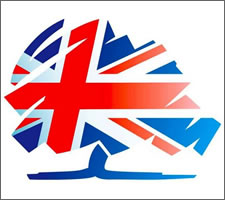 The logo of the Conservative Party UK.
