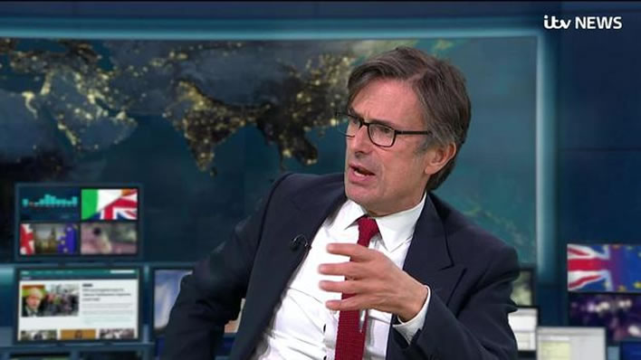 Robert Peston, ITV News.