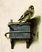 Carel Fabritius, 'The Goldfinch', 1654