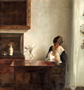 Carl Holsoe, 'Interior with Woman and Child, ND.