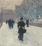 Frederick Childe Hassam, 'The Promenade, Winter in New York', 1895.