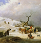 Johann Christian Klengel, 'Winterlandschaft', ND.