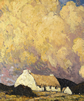 Paul Henry, 'Landscape with Cottage', c1929-34.