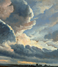 Simon Alexandre-Clement Denis, 'Study of Clouds with a Sunset near Rome', ND