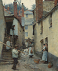 Stanhope Alexander Forbes, 'Old Newlyn', 1884.